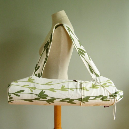 Green Yoga Bag