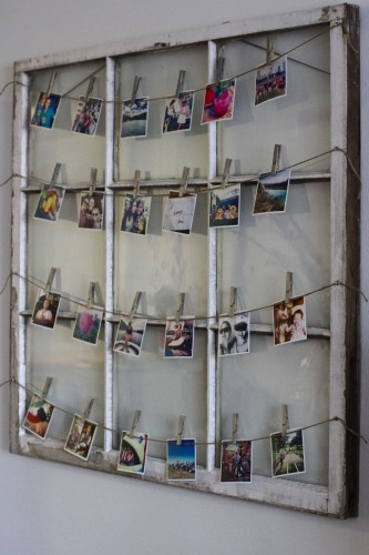 Vintage Window Picture Frame