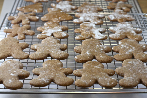 Rack of Gingerbread Men