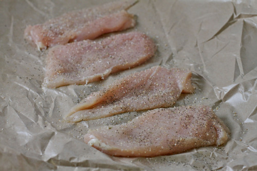 Seasoned Chicken Cutlets