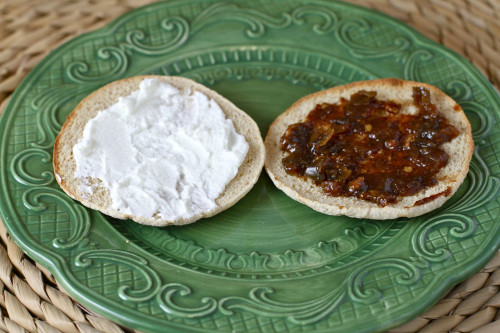 Goat Cheese & Bacon Jam