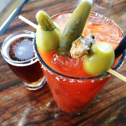 Blue Jacket Bloody Mary