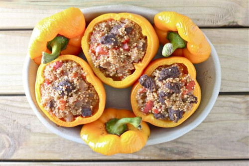 Quinoa Stuffed Peppers 3