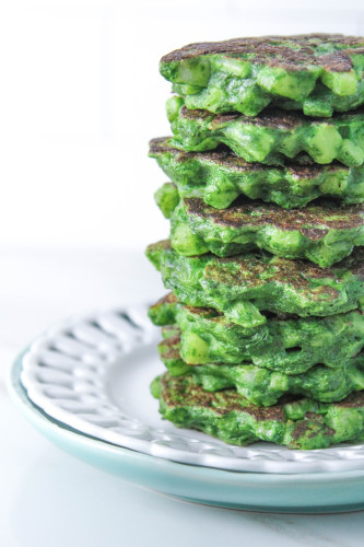 Spinach Turnip Cakes