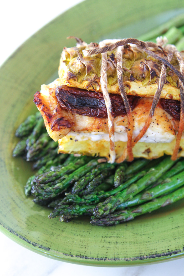 Chipotle & Pineapple Halibut