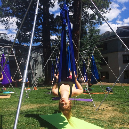 Aireal Yoga Wanderlust Festival