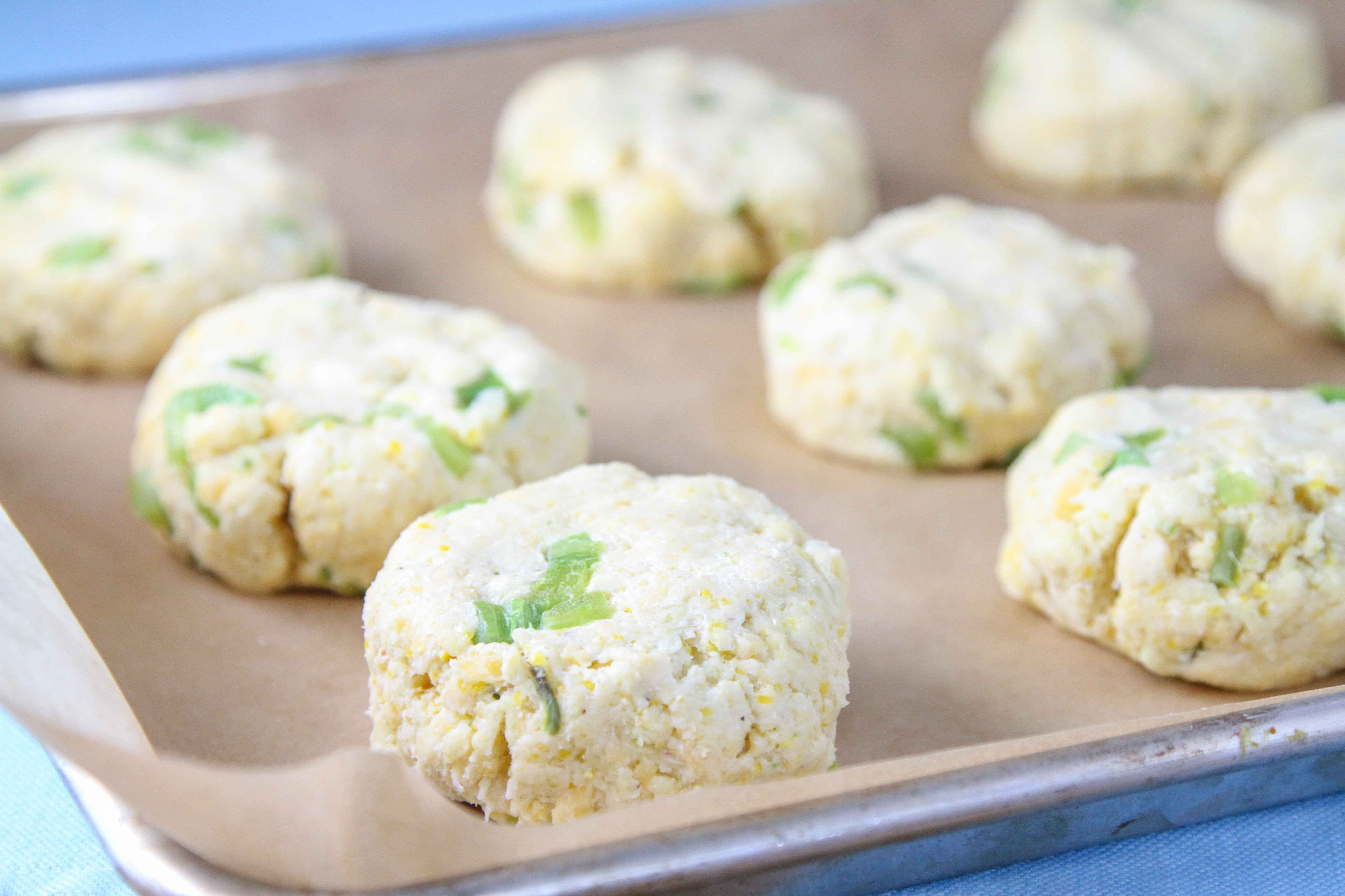 Hatch Chile & Cheddar Cornbread Scones 2
