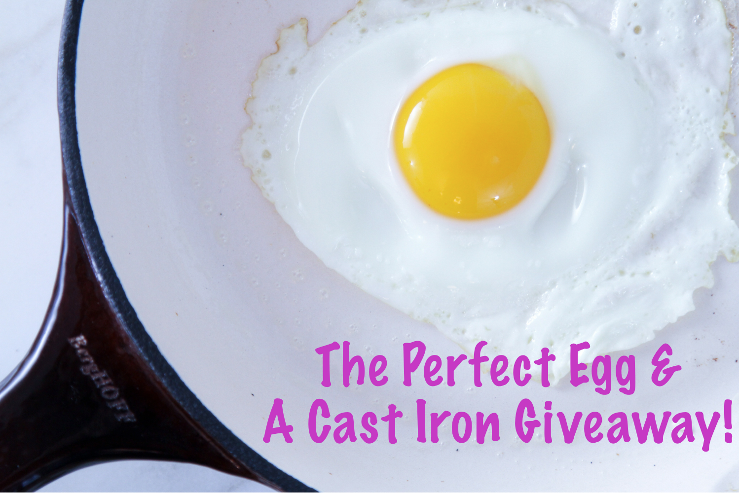 How to Make a Perfect Fried Egg
