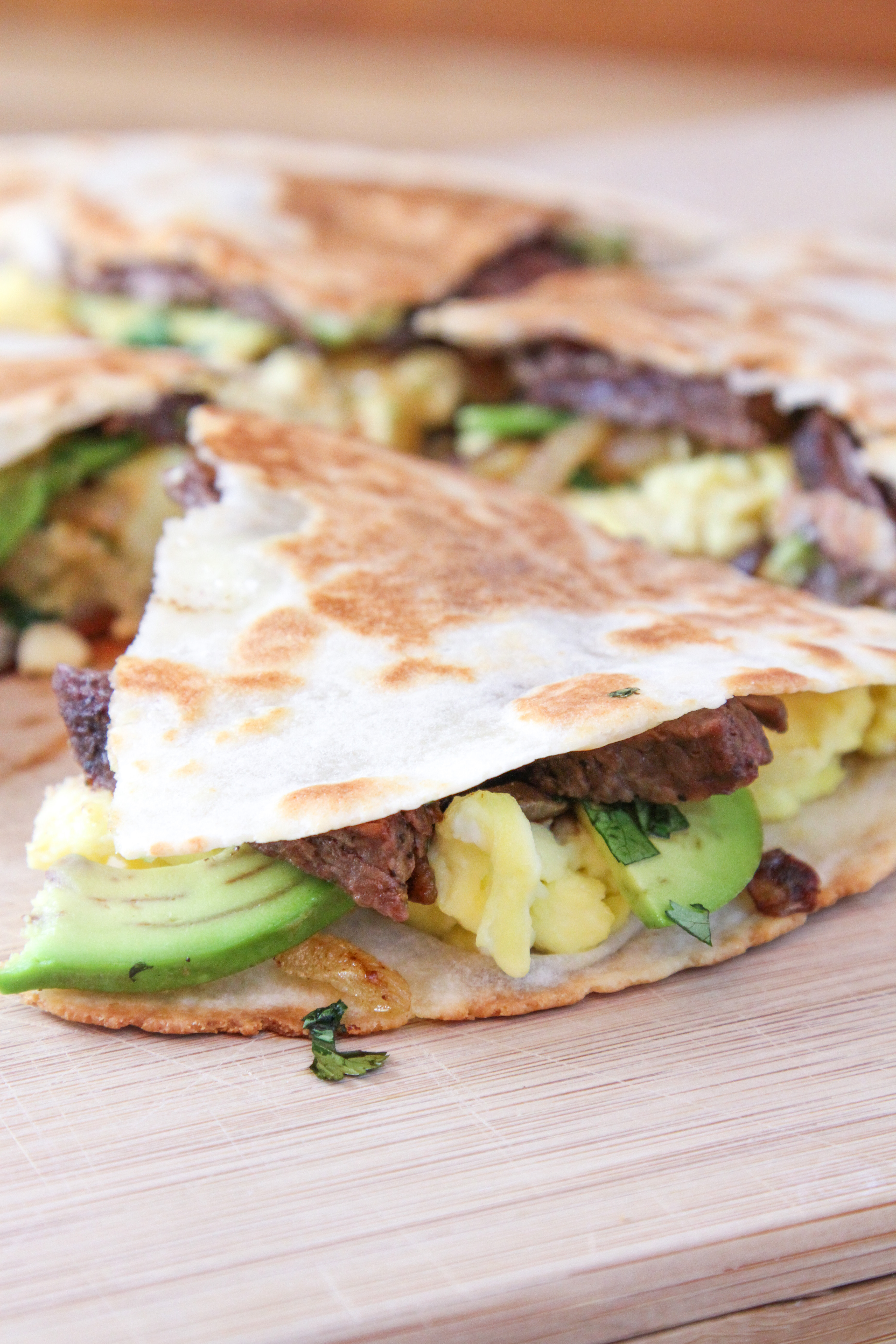 Steak & Egg Quesadilla 2