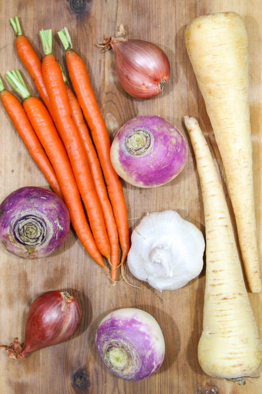 Root Vegetables for Roasting