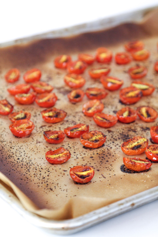 Broiled Cherry Tomatoes