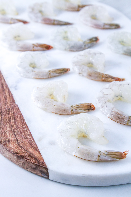 Peeled Deveined Shrimp Tails On